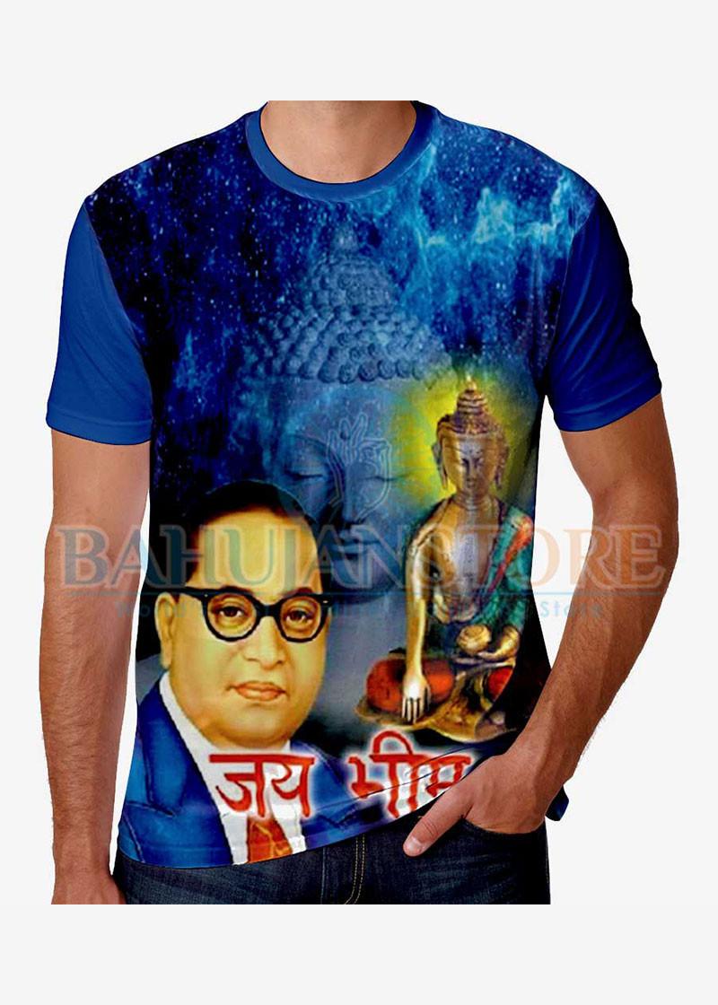 Jai Bhim Ambedkar Buddha T-Shirt