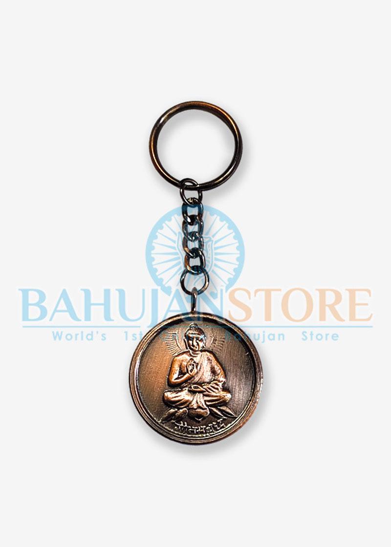 Buddha and Ambedkar Keychain