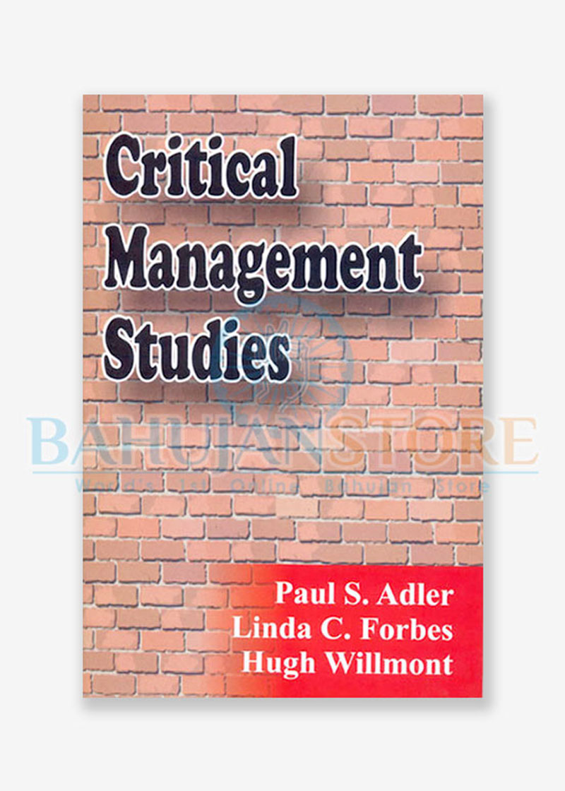 Critical Management Studies
