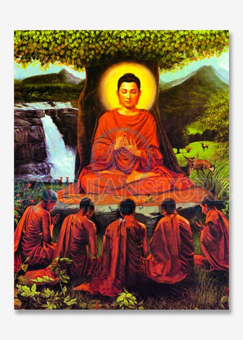 Lord Buddha Big Poster 17x22 Inches