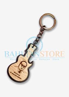 Babasaheb Keychain Guitar Shape
