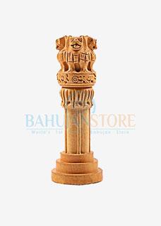 Wooden Ashok Stumbh 4 inch