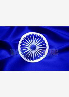 Ashok Chakra Flag 14 x 21 inches