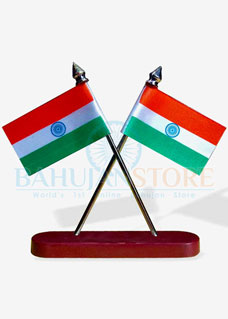 Indian Flag with Stand