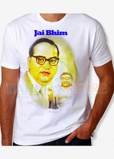 Babasaheb Ambedkar with Lord Buddha T-Shirt