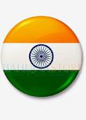 National Flag Badge ( 5 Badges )