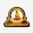 Lord Buddha Car Dashboard