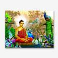 Lord Buddha Big Poster 22x17 Inches