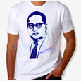 Babasaheb Dr. Ambedkar with Signature Awesome T-Shirt